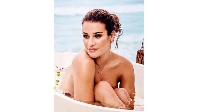 Mit Blick aufs Meer badet es sich am schönsten, dachte sich wohl Lea Michele. (Bild: www.PPS.at)