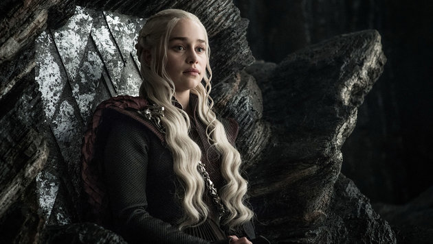 "Emilia Clarke in ihrer Rolle der Daenerys in der 7. Staffel von ""Game of Thrones"" (Bild: Hollywood Picture Press/face to)"