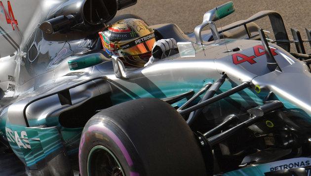 Streckenrekord! F1-Ass Hamilton außer Rand & Band (Bild: AFP)