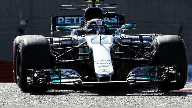 Bottas schlägt Hamilton! Finne rast zur Pole (Bild: GEPA)