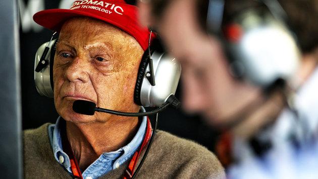 """Lauda unglücklich: """"Formel 1 nicht manipulieren"""" (Bild: GEPA)"""