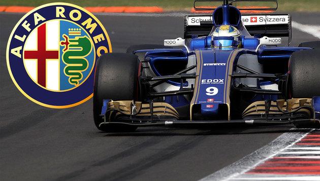 Alfa Romeo kehrt in die Formel 1 zurück (Bild: AP, krone.at-Grafik)
