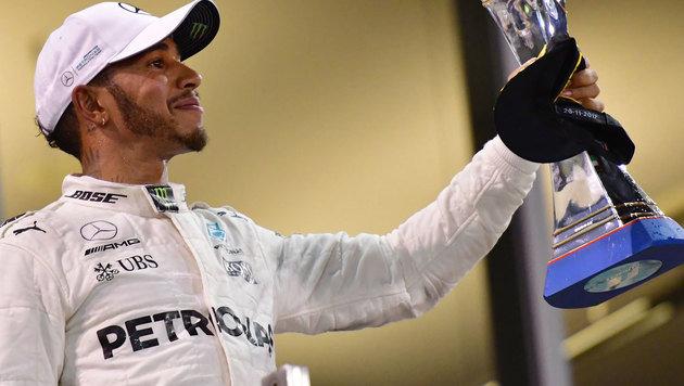 Aus dem Nichts: Hamilton denkt ans Aufhören (Bild: AFP)
