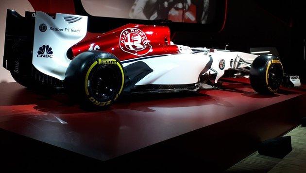 Mit diesem Wagen will Alfa Romeo die F1 aufmischen (Bild: twitter.com)