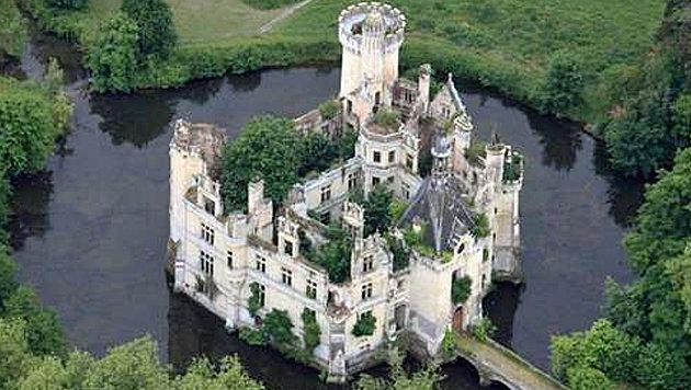 Wasserschloss fand online 6500 neue Besitzer (Bild: dartagnans.fr)