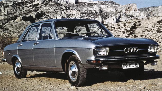 Audi 100 ab 1968 (Bild: Audi)