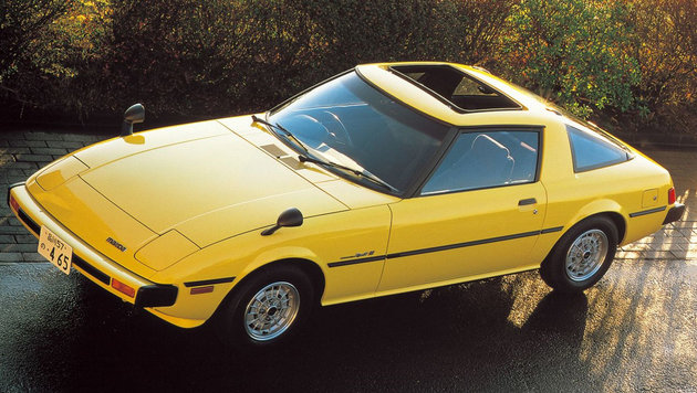 Mazda RX-7 ab 1978 (Bild: Mazda)