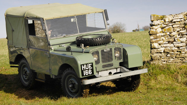 Land Rover Series I ab 1948 (Bild: Land Rover)