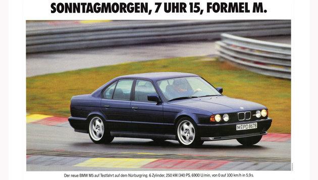 BMW M5 Limousine E34 ab 1988 (Bild: BMW)