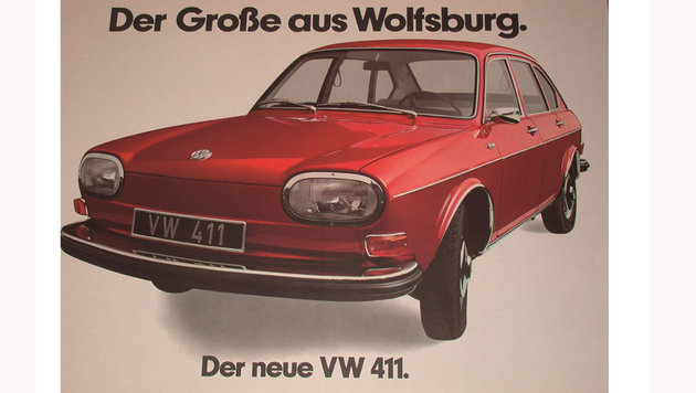 Volkswagen 411 ab 1968 (Bild: VW)