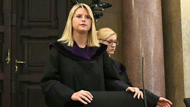 Richterin Marion Hohenecker am Dienstag unmittelbar vor Beginn des BUWOG-Prozesses (Bild: APA/HELMUT FOHRINGER/APA-POOL)