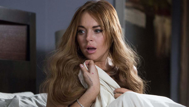 "Lindsay Lohan im Film ""Scary Movie 5"" (Bild: CapFSD/face to face)"
