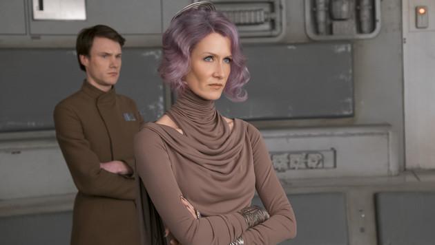 Laura Dern als Vize-Admiral Holdo (Bild: Lucasfilm)