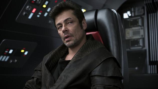 Prominenter Neuzugang: Benicio del Toro als DJ (Bild: Lucasfilm)