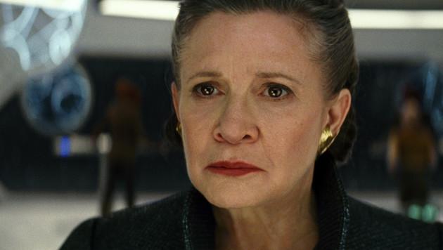 Carrie Fisher wird ein letztes Mal als Leia zu sehen sein. (Bild: Lucasfilm)