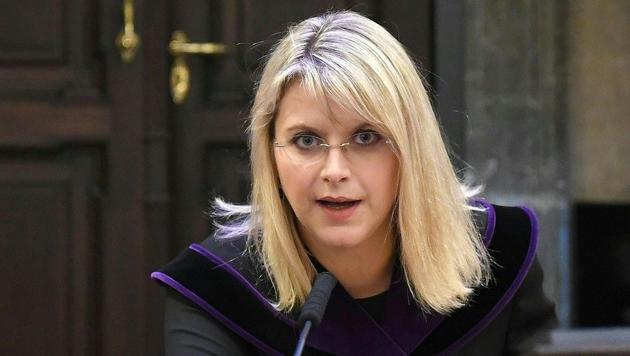 Richterin Marion Hohenecker (Bild: APA/HELMUT FOHRINGER/APA-POOL)