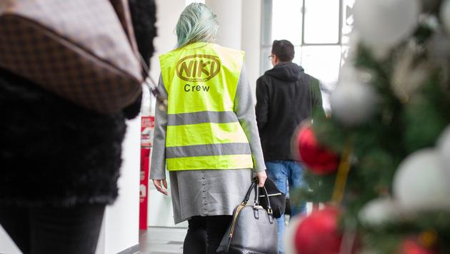 Niki-Pleite: AUA bietet Mitarbeitern Jobs an (Bild: APA/GEORG HOCHMUTH)