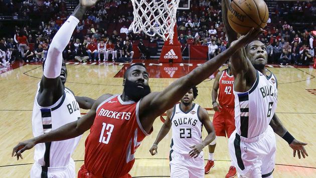 Unfassbar: 13. Sieg in Serie für Houston Rockets! (Bild: AP)