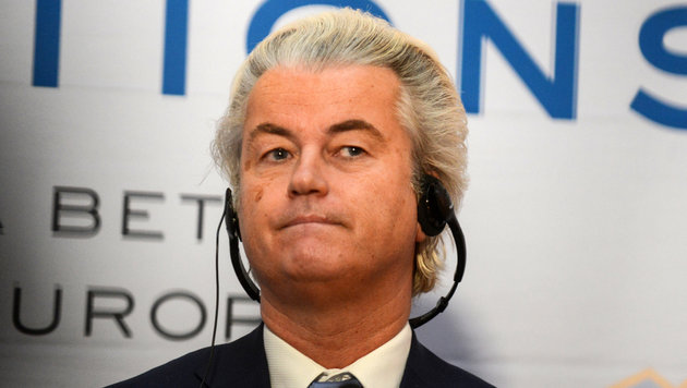 Geert Wilders (Bild: APA/AFP/Michal CIZEK)