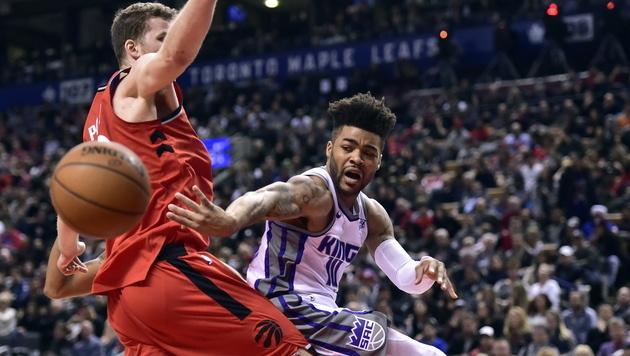 Toronto siegt! 9 Punkte und 4 Rebounds von Pöltl (Bild: AP)