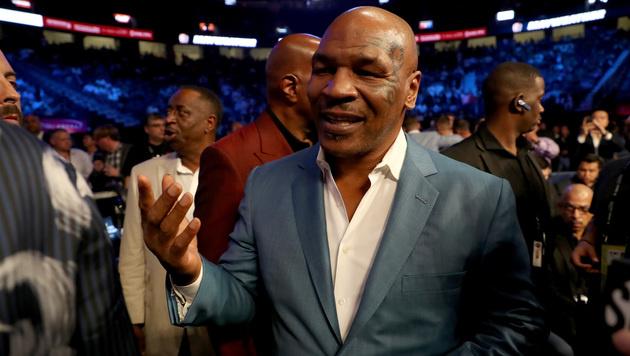 Abend mit Mike Tyson in Wien: Box-Star auf Tour (Bild: Getty Images)