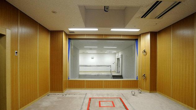 In diesem Raum werden in Japan Exekutionen durch Strangulation durchgeführt. (Bild: AFP)
