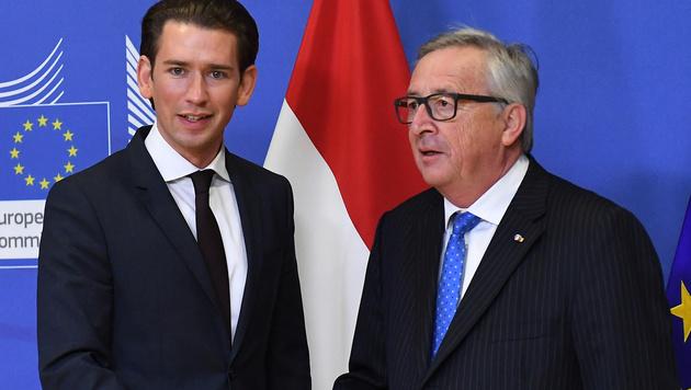 """Juncker: Bei FPÖ """"keine Vorverurteilungen"""" (Bild: AFP)"""