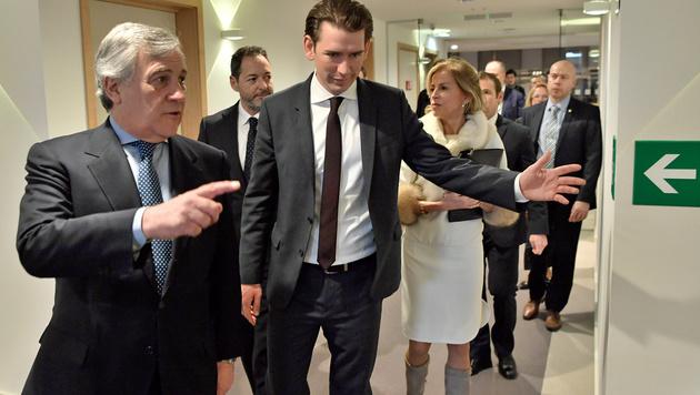 """""""EU wird mit Kurz große Schritte nach vorn machen"""" (Bild: APA/HANS KLAUS TECHT)"""