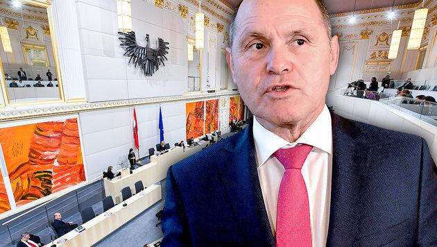 Ex-Minister Sobotka zum Parlamentschef gewählt (Bild: APA/HELMUT FOHRINGER, APA/ROLAND SCHLAGER, krone.at-Grafik)