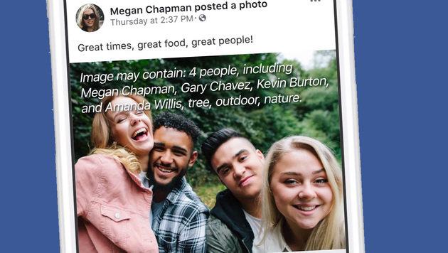 Facebook setzt verstärkt auf Gesichtserkennung (Bild: Facebook)