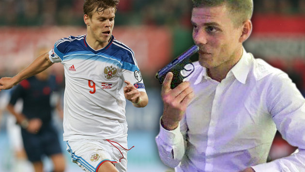 Russisches Roulette! Skandal um Fußballstar (Bild: GEPA, instagram.com, krone.at-grafik)