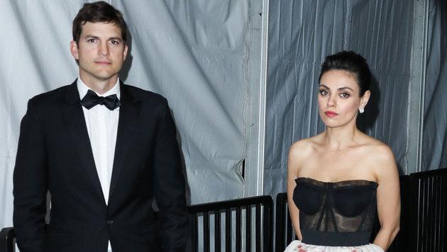 Ashton Kutcher und Mila Kunis (Bild: www.PPS.at)