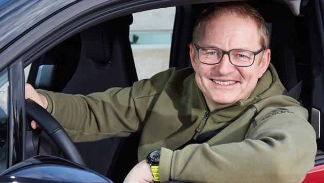 Krone-Motor-Redakteur Stephan Schätzl (Bild: Daniel Kraus)