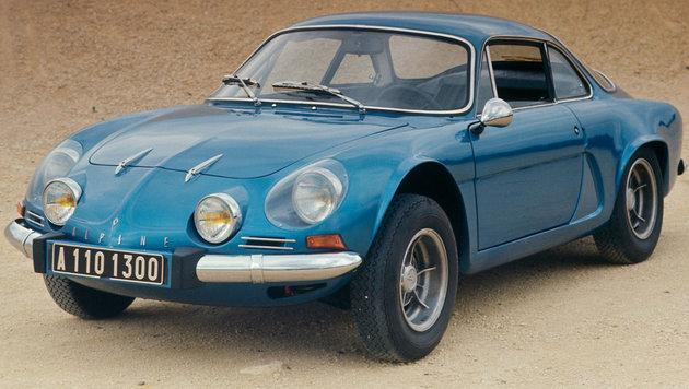 Die Alpine A 110 als 1300 (1962 bis 1977) (Bild: Renault)