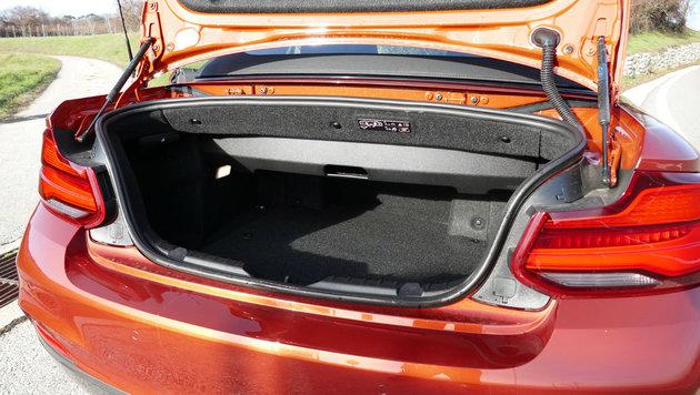 BMW M240i Cabrio: Luftnummer am Ende der Polarität (Bild: Stephan Schätzl)