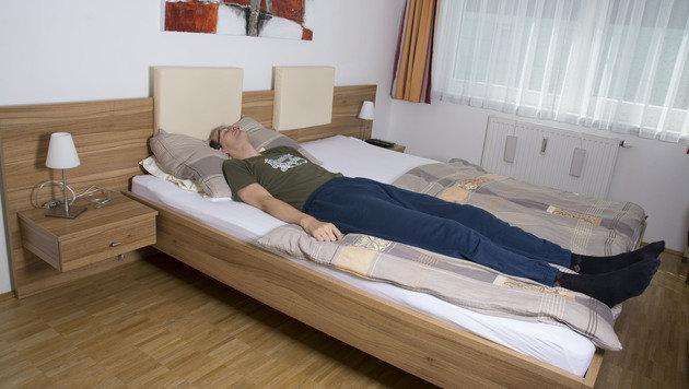 """""""Über zwei Meter: Wiener """"Gigant"""" und sein Alltag (Bild: Johanna Lehr (www.johannalehr.com))"""""""