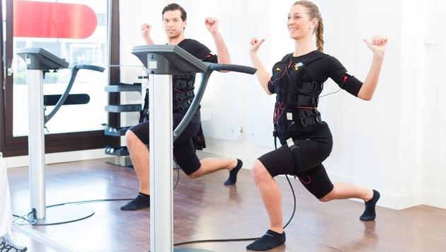 EMS-Training kann zu Nierenschäden führen (Bild: Kzenon/stock.adobe.com)