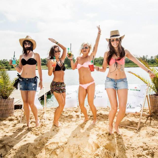 Der Vienna City Beach Club eröffnet die Saison! (Bild: facebook.com/vcbc)