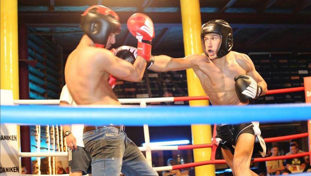 Undercover im Kampftempel  (Bild: facebook.com/fightclubcopacagrana)