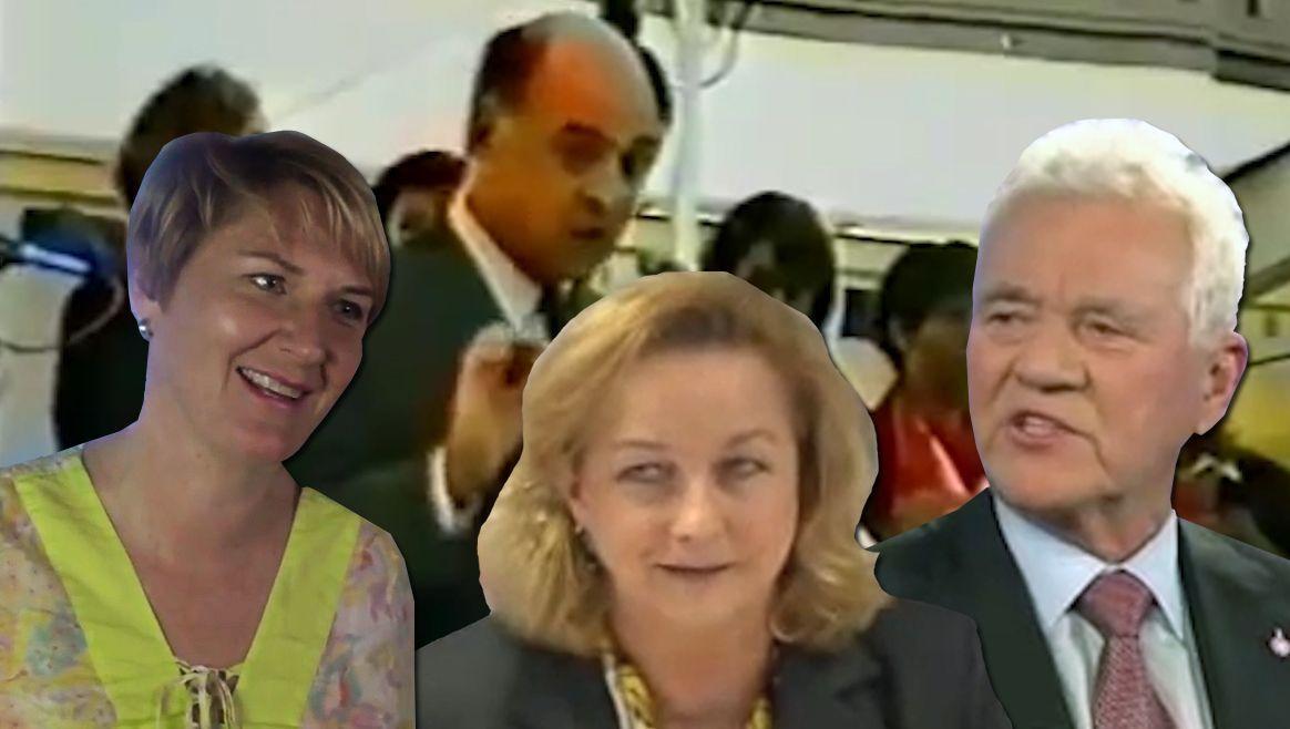 Die 5 peinlichsten Politiker-Videos  (Bild: YouTube)