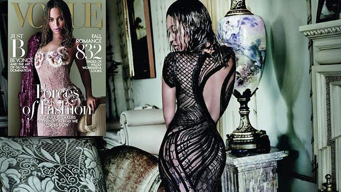 Beyoncé als Fashion-Star!  (Bild: Vogue/Mario Testino)
