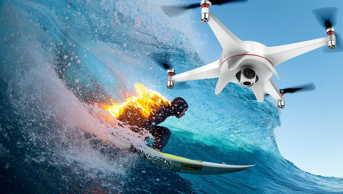 Drohnen-Boom: Diese Modelle gehen durch die Decke  (Bild: Red Bull Content Pool)
