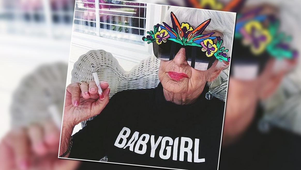 Das ist die coolste Oma der Welt  (Bild: instagram.com/baddiewinkle)