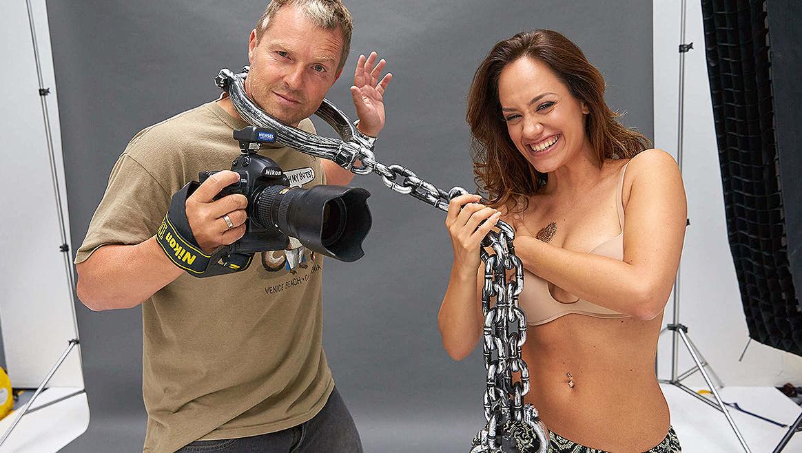Sasa Schwarzjirg: So war ihr Nacktshooting  (Bild: Starpix/Alexander TUMA)