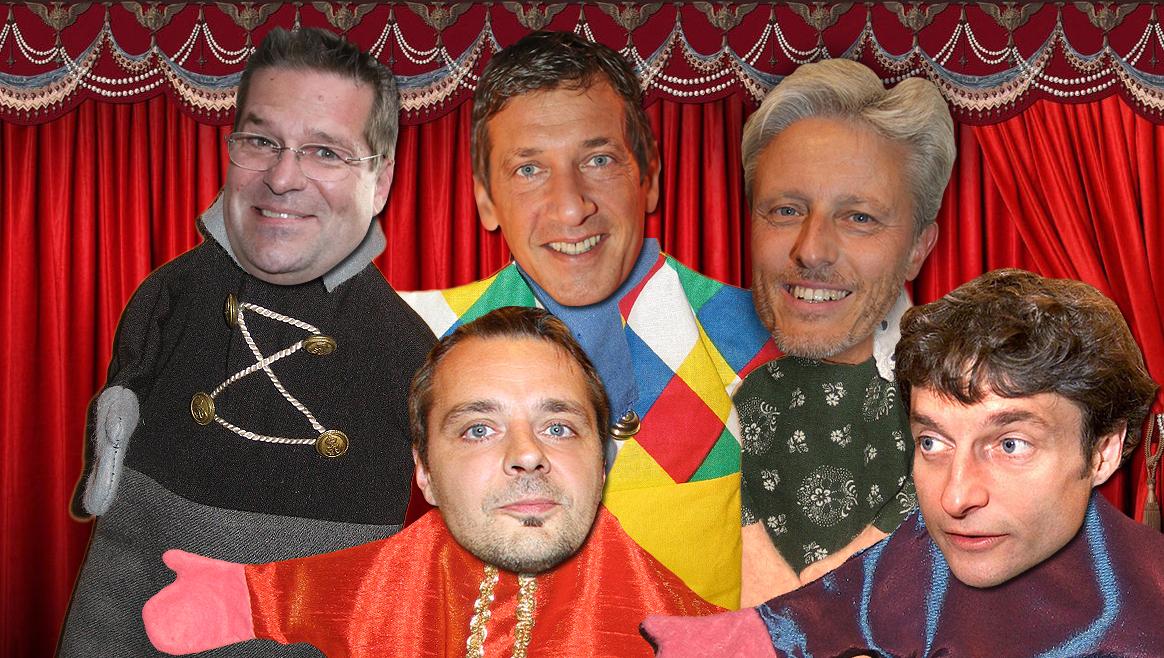 Top 5: Das sind Wiens nervigste Kabarettisten  (Bild: Fotomontage/Tomschi, Wenzel, Bissuti APA/Artinger)