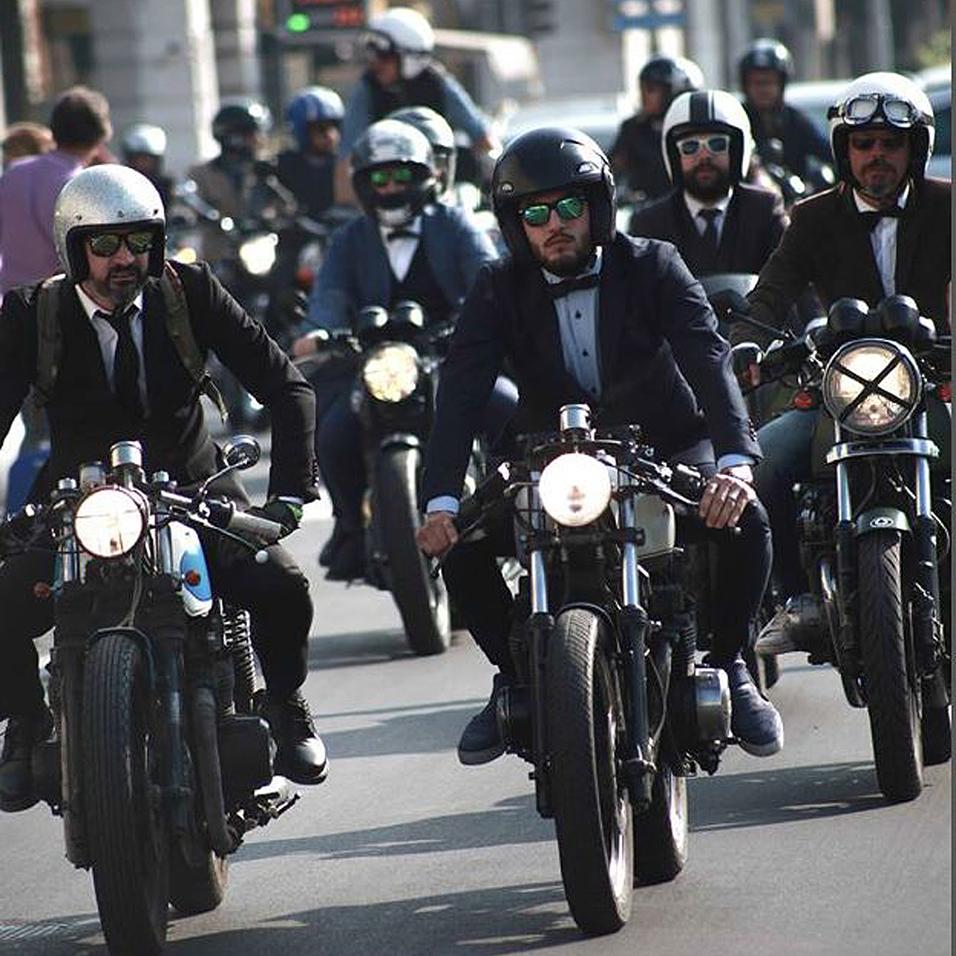 Gentleman's Ride: Biker geben in Wien Gas (Bild: DGR)