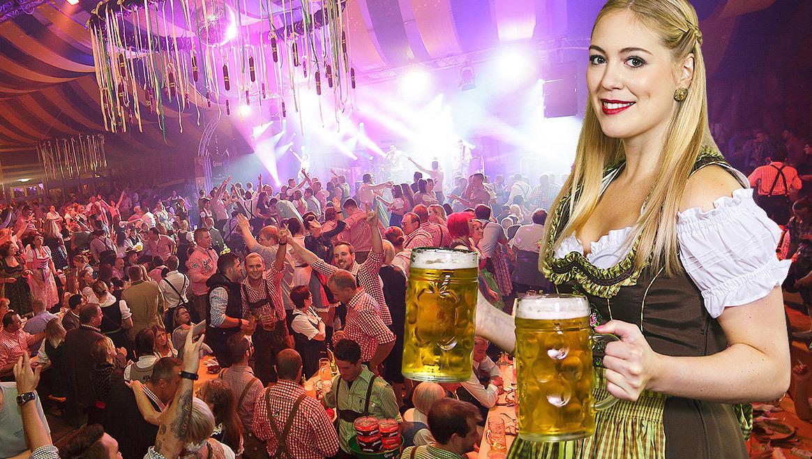 So läuft's wirklich: Wiesn-Kellnerin packt aus  (Bild: Fotomontage/ Wiener Wiesn-Fest, thinkstockphotos.de)