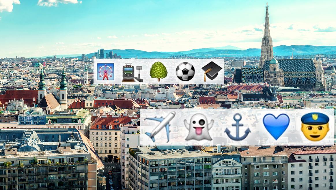 Die Wiener Bezirke in Emojis  (Bild: thinkstockphotos.de / Zoomsquare)