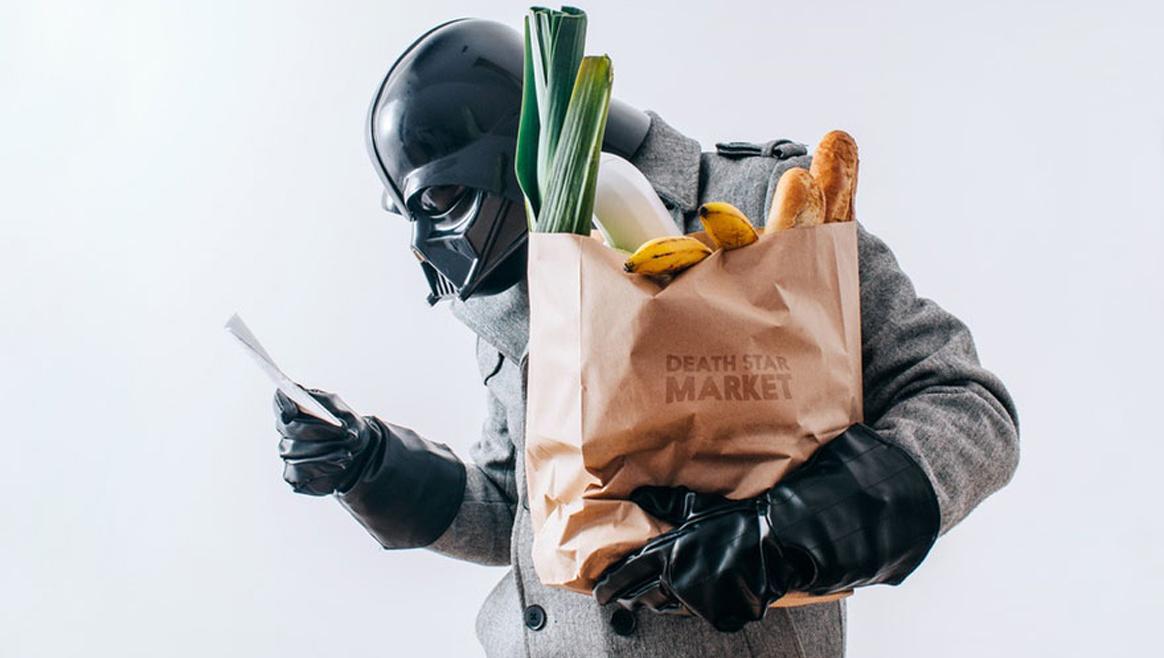 365 Fotos aus dem Alltag von Darth Vader  (Bild: Pawel Kadysz)