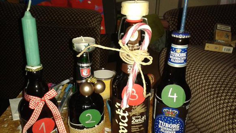 11 Adventkränze für coole Partypeople